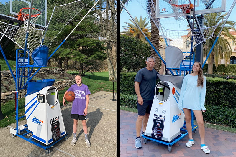 Basketball Shooting Machine for Home Use | The Gun by Shoot-A-Way